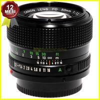 Canon FD 50mm f1,2 Obiettivo per fotocamere utilizzabile su digitali con adapter