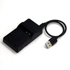 USB Battery Charger for Panasonic Lumix DMC-FH2 DMC-FH4 DMC-FH5 DMC-FH6 DMC-FH7