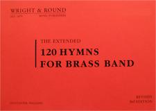 120 hymns for brass band-repiano trompette/cornet à piston livre-large print edition A4