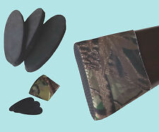 Camo Slip On Neoprene Recoil Pad for Rifle Shotgun multi inserts Hunting  gear