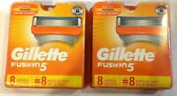 **16** Gillette Fusion Regular Shaver Razor Blade Refill Cartridges REAL GENUINE