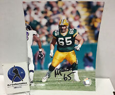 Mark Tauscher Autographed 8x10 No Coa Green Bay Packers Wis Badgers Nfl Pro Bowl