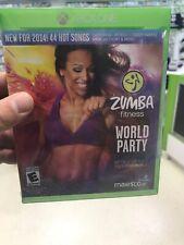 Zumba Fitness World Party (Microsoft Xbox One, 2013) Brand New Sealed