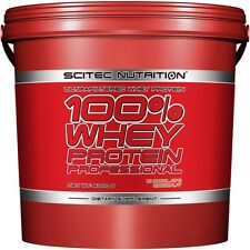 PROTEINA 100% WHEY PROTEIN PROFESSIONAL 5000gr SCITEC NUTRITION ELIGE SABOR