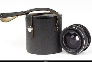 Lens Zeiss  Black  Flektogon  2.8/35mm For Exakta