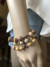 by a Haitian artisan/ Orphanage Fundraiser Bijou Bracelet made from a Cereal Box
