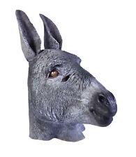 Latex Âne Masque Noël Nativité Mule Animal Accessoire Déguisement