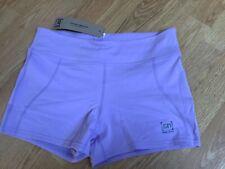 Super natural chakra yoga shorts lilac size medium