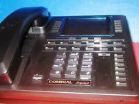 COMDIAL Impact 8412FJ-FB Black Large Display Phone - NEW