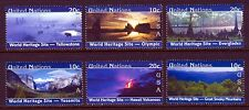 UN - NY . 2003 US World Heritage . Booklet Singles (6) .  Mint Never Hinged