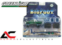 CHASE  GREENLIGHT 30054 1:64 1974 FORD F-250 BIGFOOT #1 GOOSENECK TRAILER
