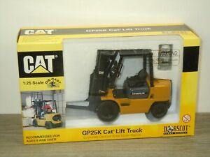 Forklift Cat Caterpillar GP25K - Norscot 55071 - 1:25 in Box *50804