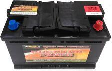 Batteria Auto 100 Ah  +40% SPUNTO (830A) - 2 Anni di Garanzia - Tecnologia Ca/Ca