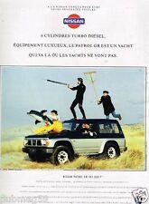 Publicité advertising 1992 Nissan patrol GR 4X4