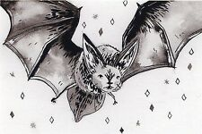 BAT 1 VINYL DECAL STICKER for LAPTOP TABLET, TILE GLASS DECOR, ORIGINAL ART