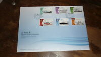 2015 HONG KONG STAMP ISSUE FDC, GOVERNMENT VESSELS SHIPPING SET OF 6 STAMPS