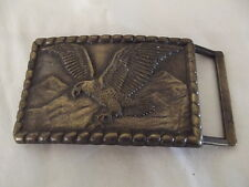 Eagle Belt Buckle Vintage