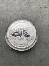 1/2 OZ Lunar II Jahr der Maus Mouse Rat Silber Silver 2008 AUS Dollar Australien