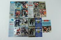 Skybox Fleer Metal Fleer Ultra Score NHL Hockey Promo Lot 95-96 96-97 93-94