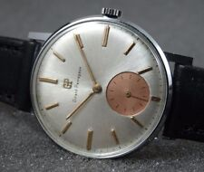 COLLECTABLE GIRARD PERREGAUX SWISS WATCH REFINISHED TWO TONE DIAL