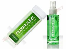 FLESHLIGHT 218ml ( 9,15€/ 100ml) RENEWING POWDER + fleshwash MASTURBADOR CUIDADO