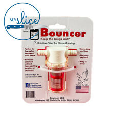 Bouncer In line Beer Brewing Filter - Home Brew, Fermenter,  Grainfather, Grain
