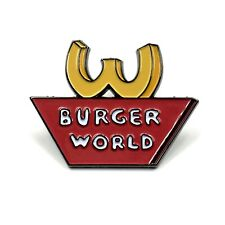 Beavis and Butthead Burger World Enamel Pin Festival Hat and Lapel Heady