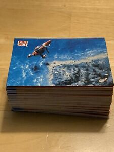 Thunderbirds Pro Set Trading Cards from 1992 COMPLETE SET OF 100 RARE CARDS