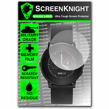 ScreenKnight Pebble Time Round Smart Watch SCREEN PROTECTOR invisible shield