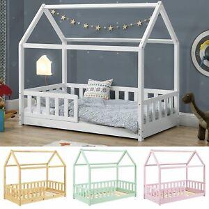 Kinderbett Rausfallschutz Bett Haus Skandinavisches Design Lattenrost Juskys®
