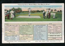 USA Sport GOLF Easy Correspondence Card c1910/20s? PPC