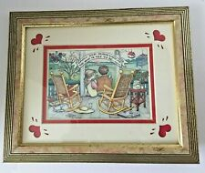 """Mary Engelbreit """" Grow Old along with me"""" Framed & Matted Print"""