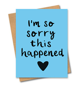 Sympathy card / I'm sorry card / Friends of Henry / Miscarriage card / Loss card