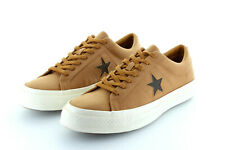 Converse Cons One Star Player Skate Ox Cognac Brown Textile Gr. 42,5 / 43,5 US 9