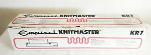 VINTAGE EMPISAL KNITMASTER KR7 KNIT RADAR KNITTING MACHINE USED BOXED