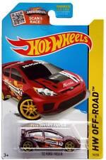 2015 Hot Wheels #78 HW Off Road '12 Ford Fiesta dark red