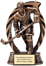 Hockey Resin Trophy Award Fantasy Hockey Free Lettering M-Rst813 Male Or Female