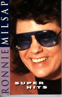 Ronnie Milsap Super Hits 1996 Cassette Country Folk Rock Western