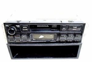 98 99 00 01 02 HONDA PASSPORT CASSETTE PLAYER RADIO DASH STORAGE OEM