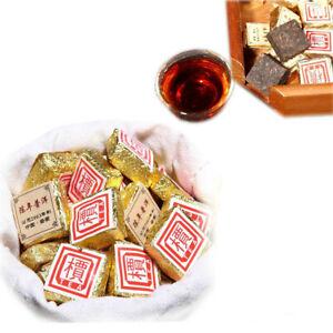 50g-500g Yunnan Bulk Ripe Puerh Tea Bohai Square Mini Puer Tea Brick Tea 1Pc/Cup