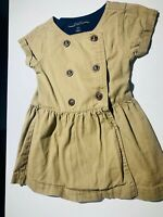 Nautica Baby Girl Toddler Khaki Dress Size 2T