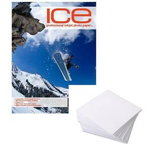 ICE DOUBLE SIDED GLOSS/MATTE A4 INKJET PRINTER PHOTO PAPER 230GSM 25 SHEET PACK