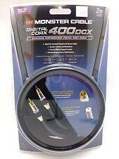 Monster Cable 400DCX  2 meter Digital Coaxial MC 400DCX-2M