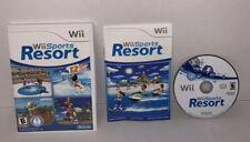 Wii Sports Resort (Wii, 2009) Nintendo Video Game U Complete Manual CIB Tested
