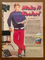 1987 Kool-Aid Koolers Print Ad/Poster 80s Kids Retro Pop Art Decor Chris Young