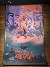 Laurent Durieux 7th Voyage Of Sinbad Variant Art Print Movie Poster XX/150 Mondo