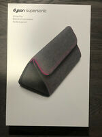 Storage Bag for Dyson Supersonic Hair Dryer - Gray/Fuchsia - Brand New!!!