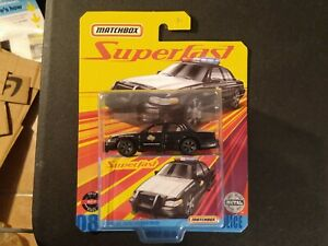 Matchbox 2020 Superfast 2006 Ford Crown Victoria Police Car!!!
