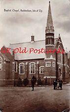 Cambridgeshire - HADDENHAM, Baptist Chapel Isle of Ely - Real Photo Postcard.