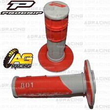 Pro Grip Progrip 801 Grips Red For Suzuki TM 250 Champion 1972-1990